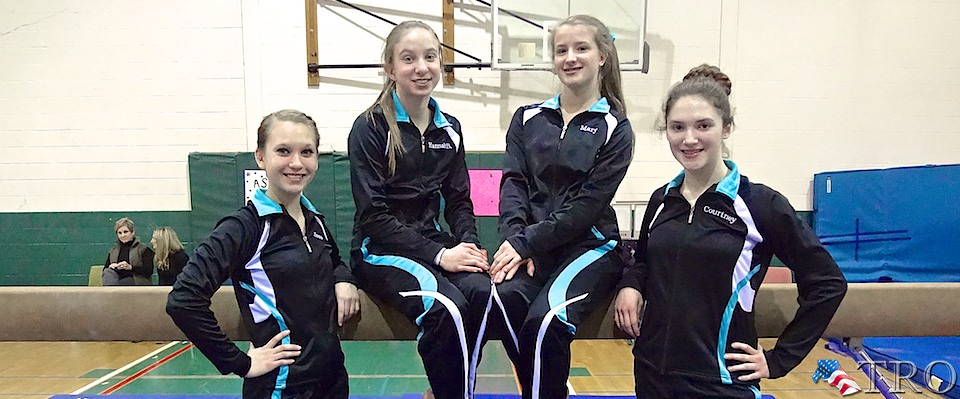 Four Local Gymnasts Heading to States