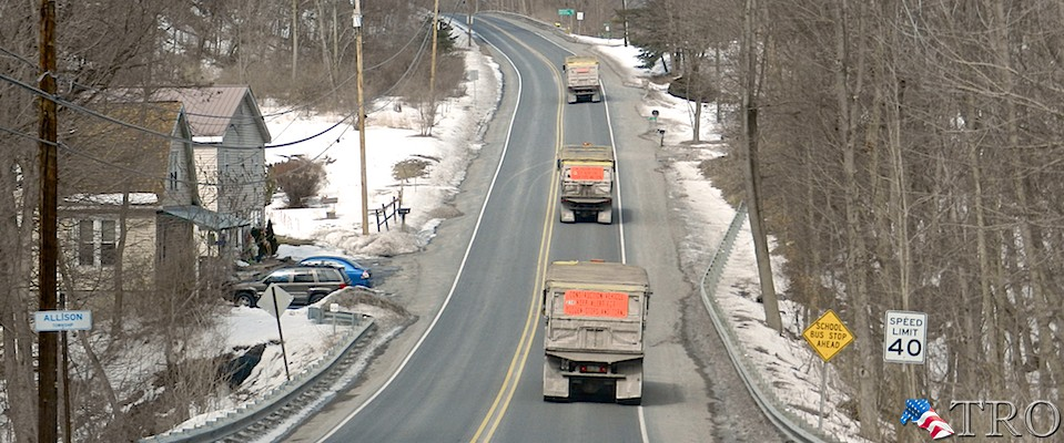 Concerns over Route 120 Truck Traffic