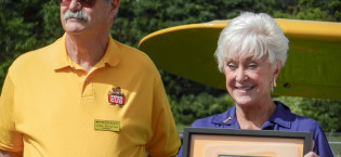 Piper Cub recognized at Employee Homecoming Event