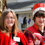 Royal Honors for Abby and Demetri