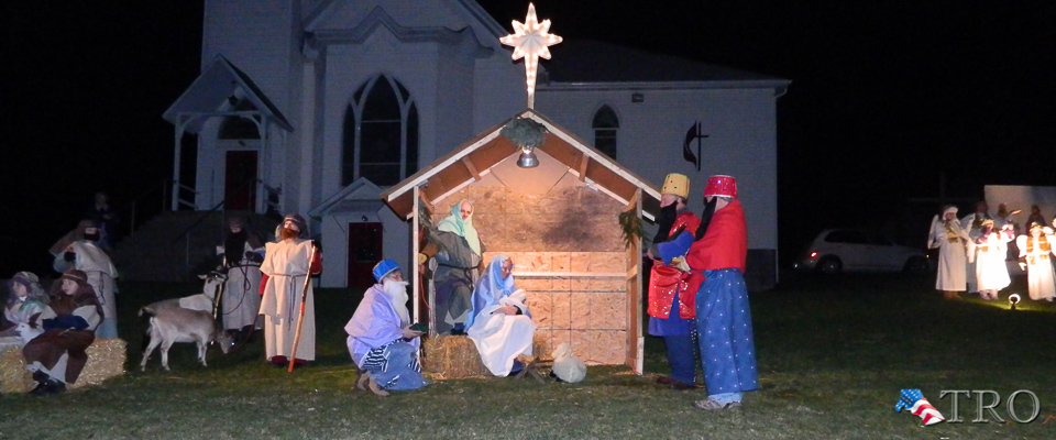 Live Nativity at North Bend UM Church