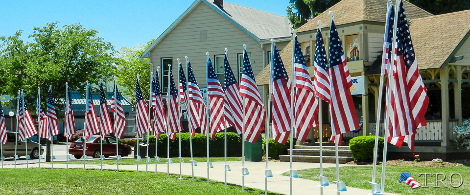 Flags of Honor at Triangle Park