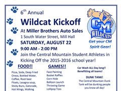 Support the Wildcats Aug. 22