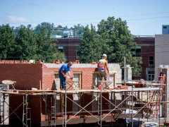 'Green Space' Construction Continues at LHU