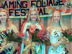 Miss Wellsboro Crowned Flaming Foliage Queen
