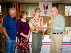 Gabe Janerella Receives Eagle Scout Award