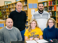 Renninger Signs with Clarion (Video Report)