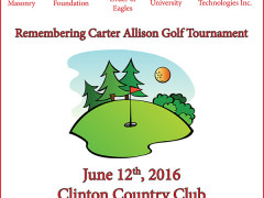 Golf Tourney to Honor the Memory of Carter Allison
