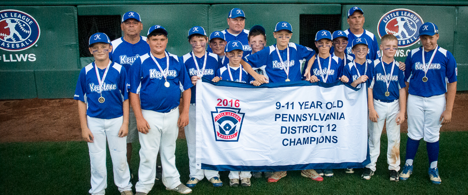 Keystone 9-11 All-Stars Nab District Crown over Montour 8-3