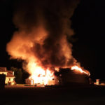 Mackeyville Produce Building Destroyed in Overnight Fire