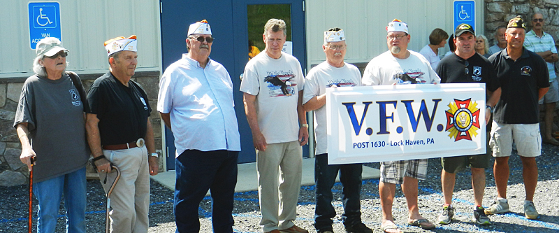Ceremony Marks Opening of Expanded VFW