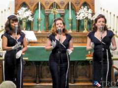 Lindy Sisters Perform in Renovo