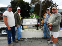 Lock Haven's Rich River History Detailed in New River Walk Signage