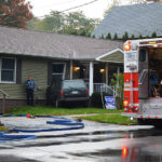 Vehicle Crosses Intersection, Enters Side of Home