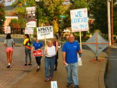 First Faculty Strike at LHU, State System Schools Underway