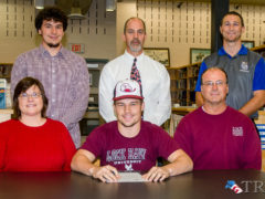 Brandon Miller Signs with Bald Eagles