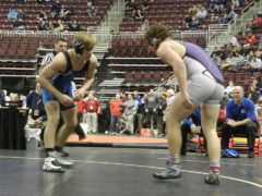 Central Mountain's Turner Takes First Bout at States
