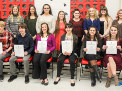 Bucktail Holds National Honor Society Induction