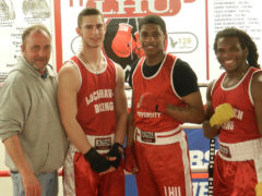 LHU Hosts East Regional Boxing