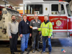 Nittany Valley Fire Company Receives Grant