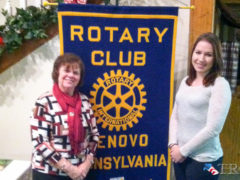 Rotary Welcomes Morgan