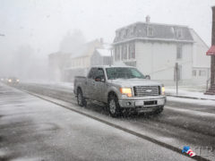 Snow Squalls Could Reduce Visibility to Zero