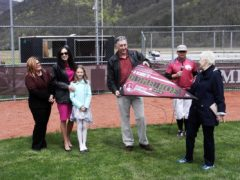 Late Local Dentist Dr. Samuel Rockey Honored at LHU Baseball