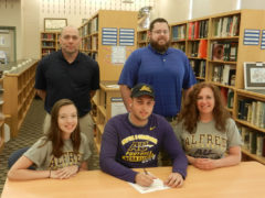 CM's Wockenfuss Signs with Alfred