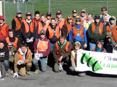 Crew Clears 1.2 Tons of Trash from Young Woman's Creek Embankment; Next Event is April 22