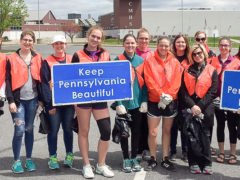 Central Mountain Students Conduct Earth Day Cleanup