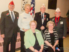Legion Members Attend Central Section Dinner