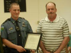 City Recognizes Life-saving Police Officer