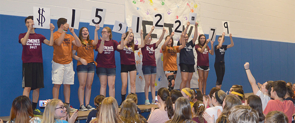 CMMS Students Surpass Goal, Raise Over $15K for 2nd Annual Mini-THON (Video Report)