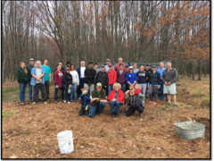 LHU Students Plant 5,000 Trees in Sproul Forest