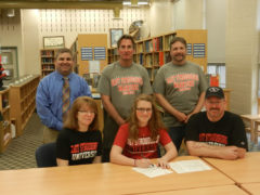 McCluskey Signs to Continue Tennis/Schooling at Stroudsburg