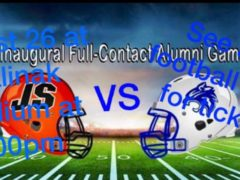 Wildcat vs Bulldog Alumni Football Fundraiser at Malinak Stadium Aug. 26, 2017