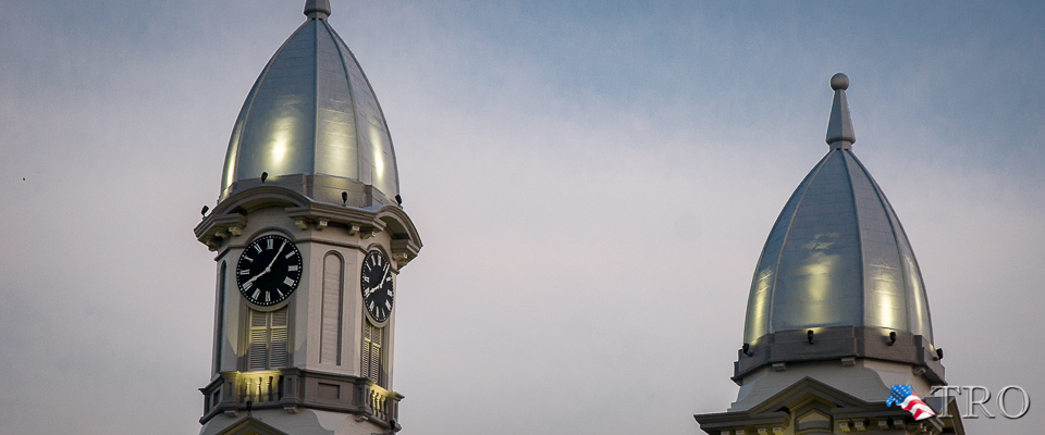 Court House Tower Renovations Complete (Video Report)