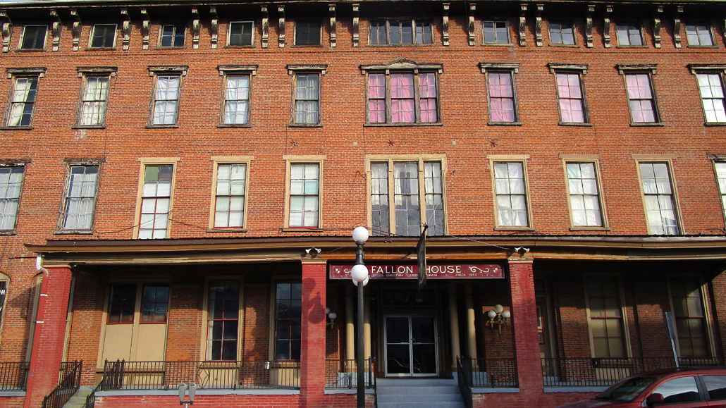 Lock Haven The City S Historic Fallon Hotel Is For Once Grand Landmark Now Shut Down And Without Heat Was Posted On Tuesday Of