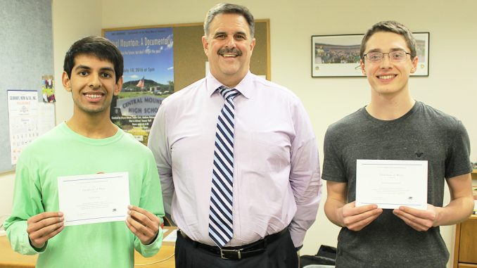 Central Mountain's Chapla and Schubach Merit Scholarship