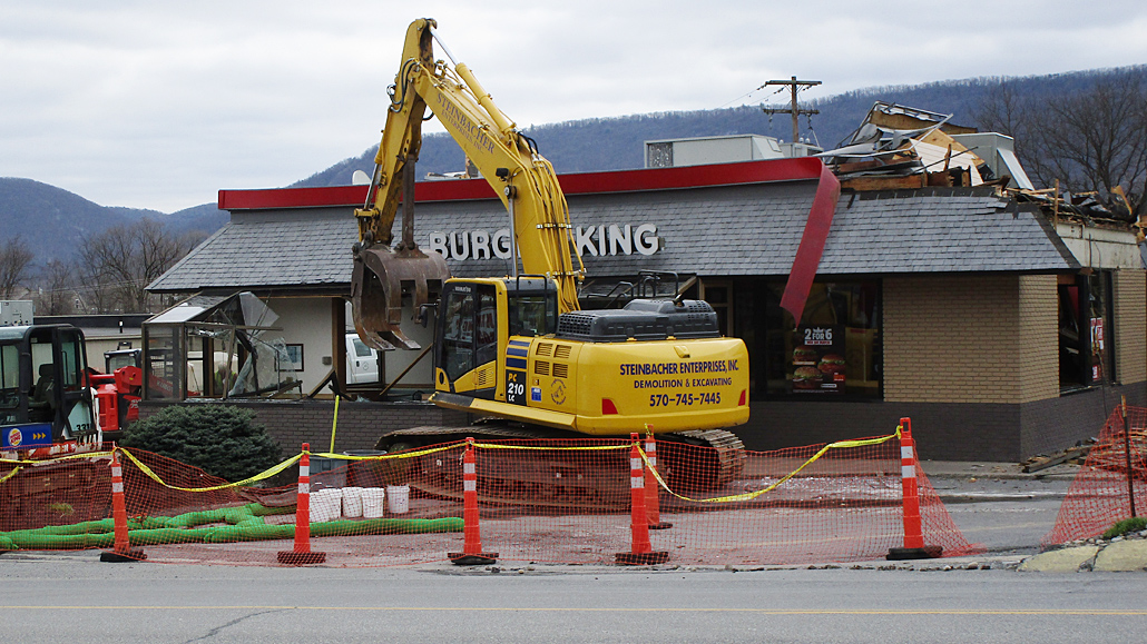 FLEMINGTON The Burger King On High Street In Flemington Is Going Down To Make Way For A New Structure Last Day Of Business Was Sunday And