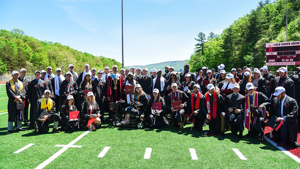 Commencement No. 142 At LHU